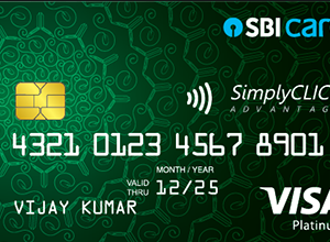 SBI Simply Click Credit Card_Icon