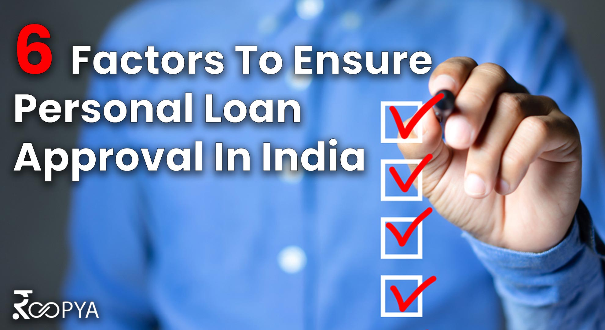 personal loan approval in India