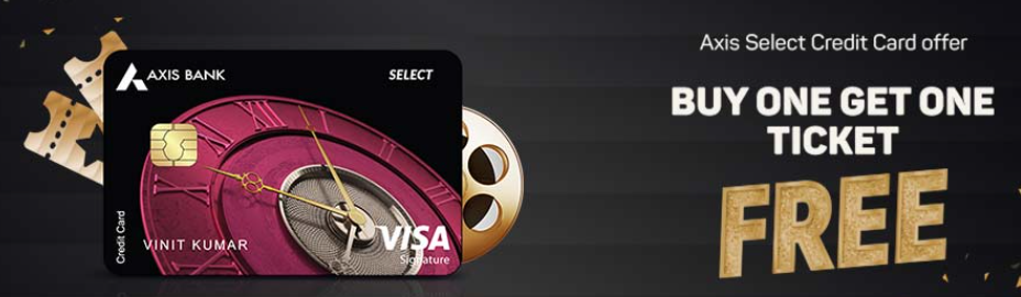 Axis Bank Select Credit Card Offers