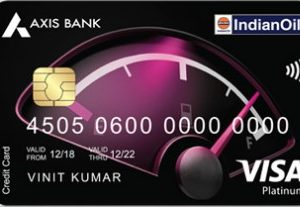 Axis Bank Indian Oil Credit Card