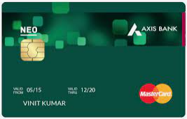 Axis Bank Neo Credit Card Icon