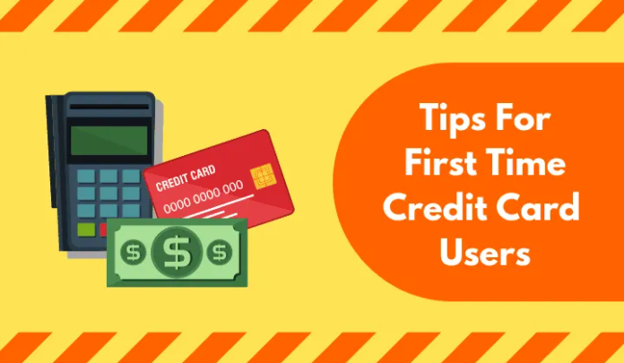 first time credit card user