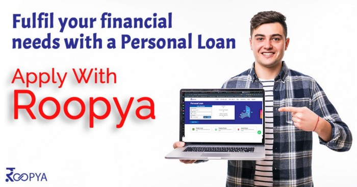 1 Lakh Personal loan from Roopya