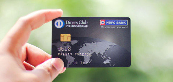HDFC Diners Club Black Credit Card banner